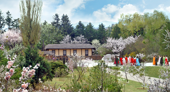 Birthplace of Kim Jong Suk at Hoeryong