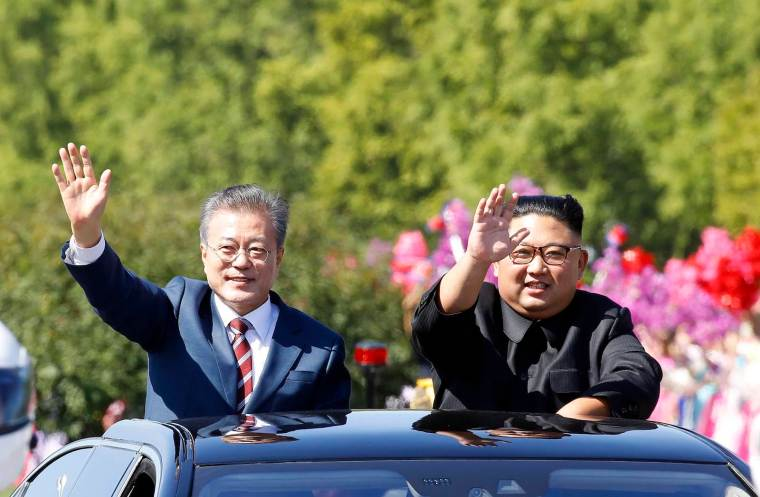 North And South Korean Leaders Meet For Third Summit In Pyonyang